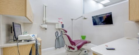 Interior of Dental365 Tribeca