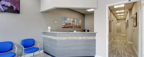 Park Slope location interior reception