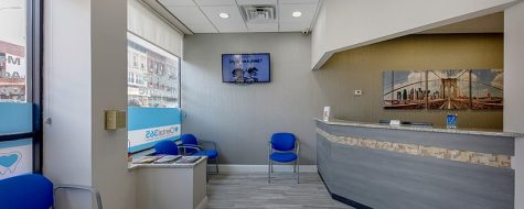 Park Slope Dental365 location reception room