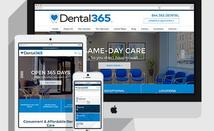 Dental365 launches new website