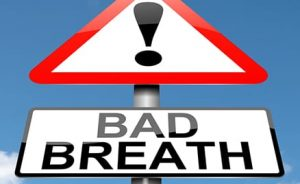 bad breath sign