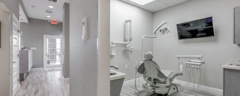 Hallway shot Oceanside Dental365 location #2