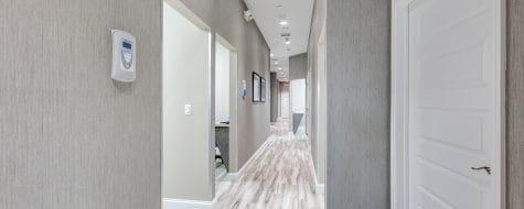Hallway show Dental365 location #3