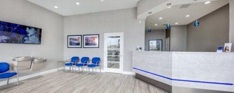Interior lobby shot Oceanside Dental365 location