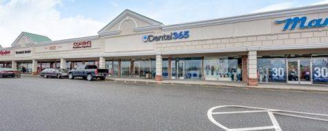 Oceanside Dental365 parking lot view