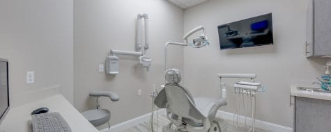Patient room at Dental365 Oceanside location #3