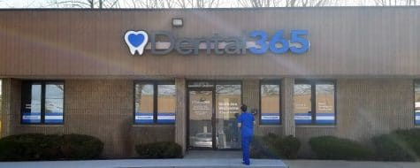 Medford office exterior Dental365