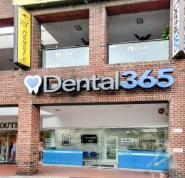 Forest Hills exterior shot Dental365