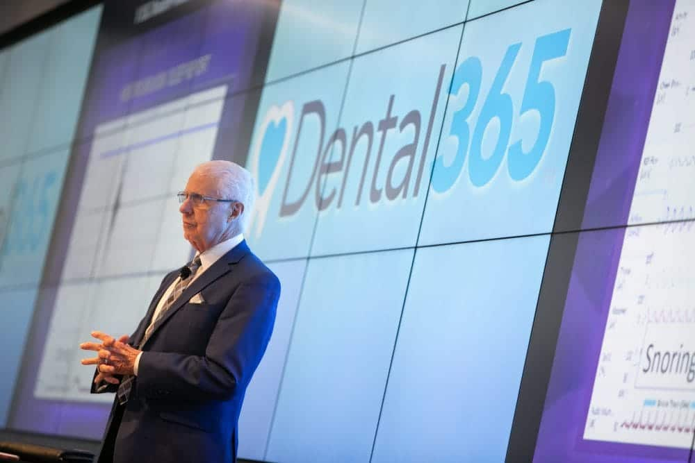 Dr. Gordon Christensen teaching at Dental365 Continuing Education