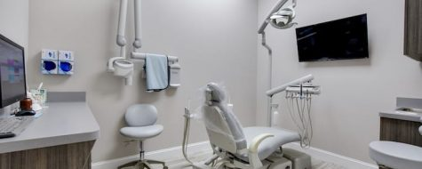 New City Dental365 dentist practice interior shot of dental exam room