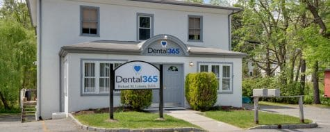 Exterior shot of the front of a Dental365 location in Croton on the Hudson