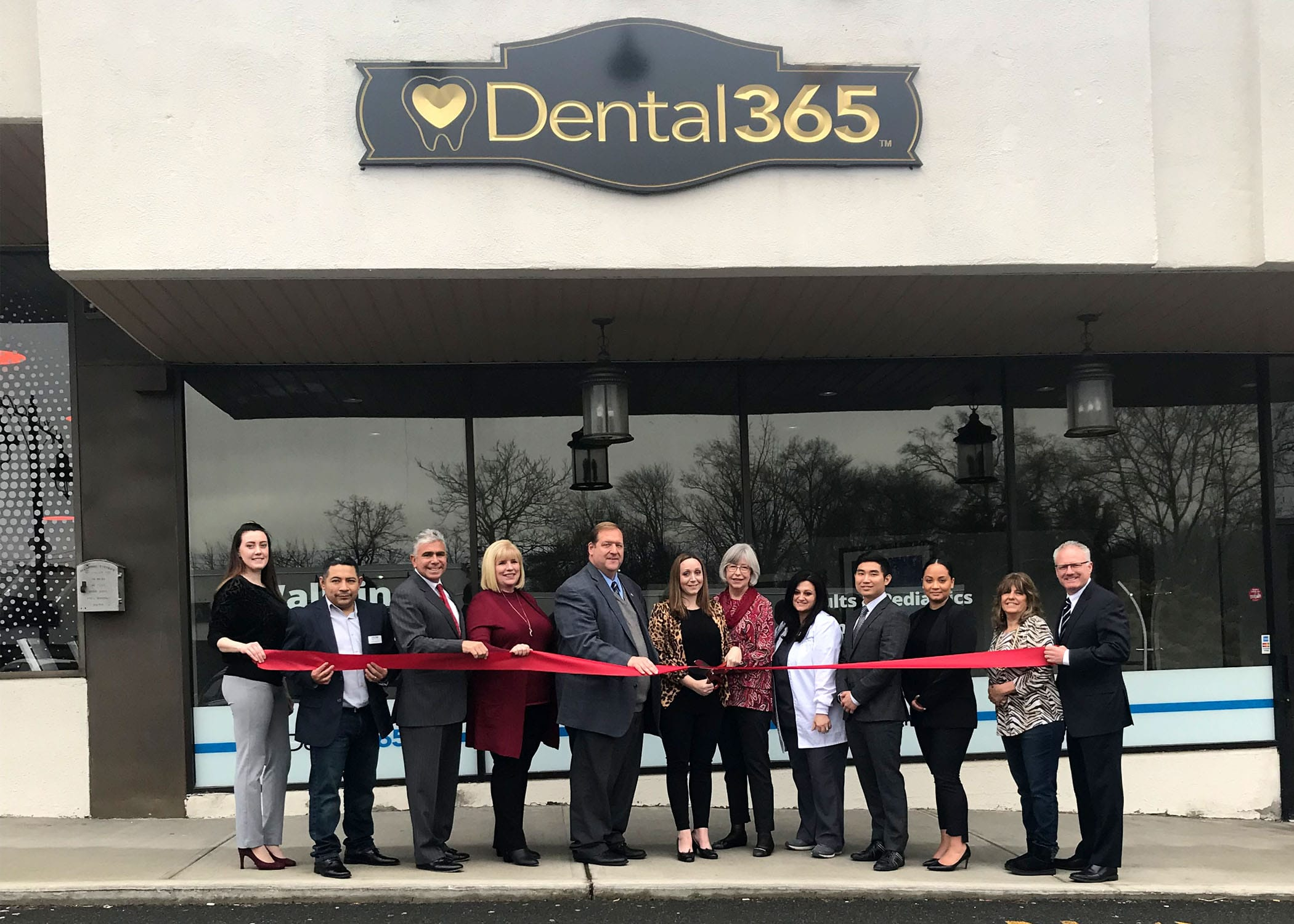 Ribbon Cutting ceremony at the New City Dental365 location