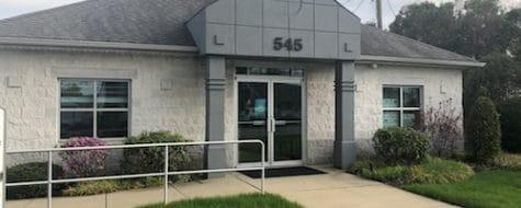 Exterior shot of the dental365 Plainview, NY office location
